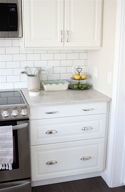 kitchen tile makeover kitchen makeover with white ikea kitchen cabinets subway 3264
