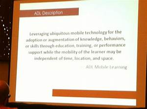 ADL Definition Of Mobile Learning Pearltrees