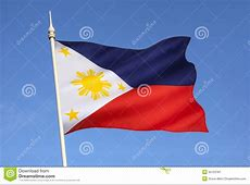 Flag of the Philippines stock image Image of countries