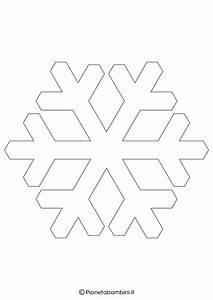 Schneeflocke Vorlage Ausschneiden : 9 sagome di fiocchi di neve da stampare e ritagliare ~ Yasmunasinghe.com Haus und Dekorationen