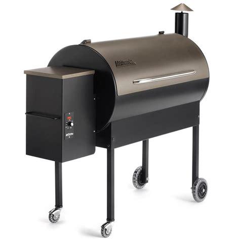 traeger lil tex traeger elite pellet grill on cart bronze bbq guys