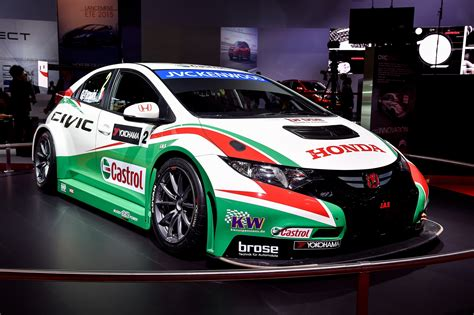 honda civic type  world touring car paris  picture