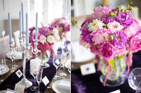 French Inspired Purple & Pink Bridal Shower