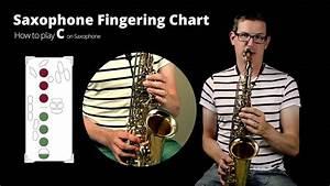 Tenor Saxophone Chart How To Play C On Saxophone Youtube