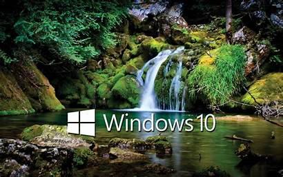 Windows Waterfall Wallpapers Computers Computer Nature Suwalls