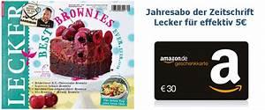 Amazon Gutschein Prüfen : jahresabo der kochzeitschrift lecker f r 38 30 amazon gutschein ~ Markanthonyermac.com Haus und Dekorationen