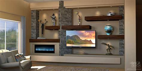 Home Entertainment Design Ideas by Custom Media Wall Home Entertainment Center Design