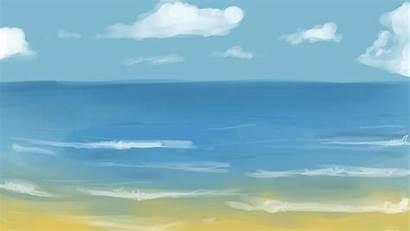 Animated Clipart Sea Ocean Morje Ptujsko Animation