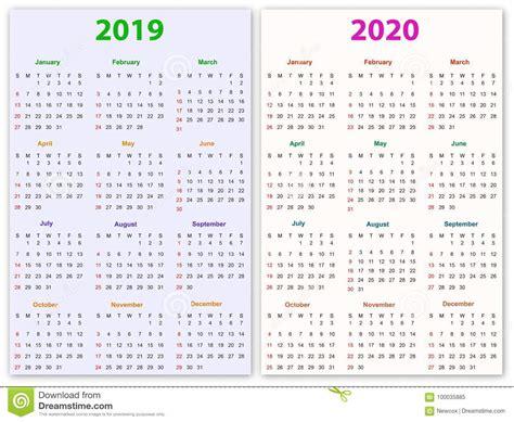 meses de diseno del calendario ilustracion