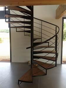 Escalier En Colimaçon : escalier m tallique en colima on dans l 39 h rault vente ~ Mglfilm.com Idées de Décoration