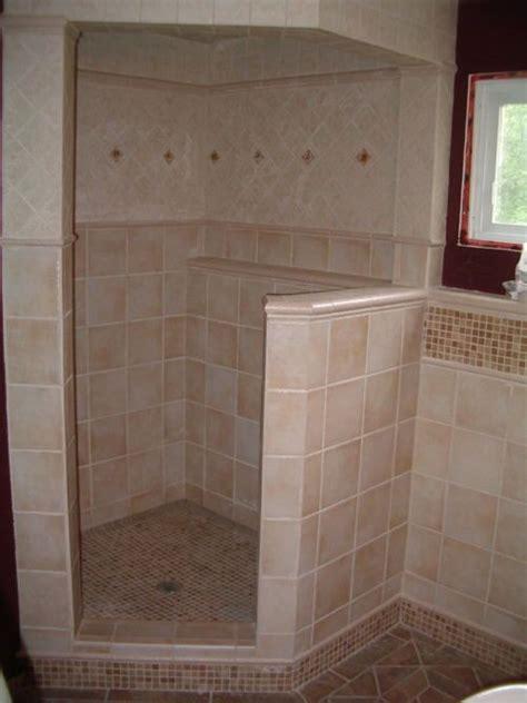 ceramic tile installation shower construction ceramic