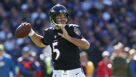 Joe Flacco Celebrated His $120 Million Contract in the Cheapest Way Possible