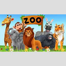 Learn Zoo Animals Names & Sounds For Kids  Learn Colors And Numbers For Kids Children Toddlers