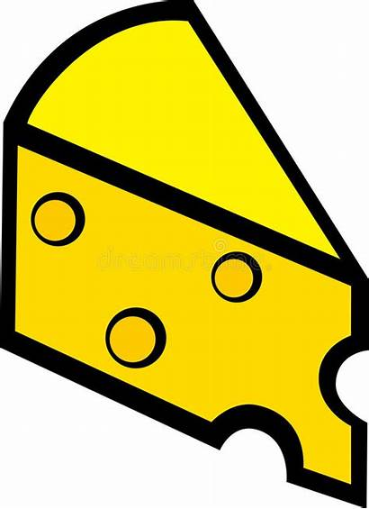 Cheese Swiss Slice Vector Illustration