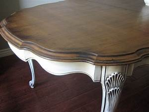 European Paint Finishes French Provincial Dining Set