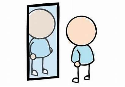 Clipart Reflection Self Mirror Semester Personal End