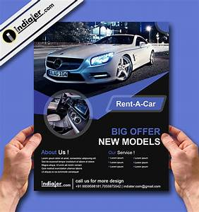 Free Download Car Rental Creative Flyer Psd Template