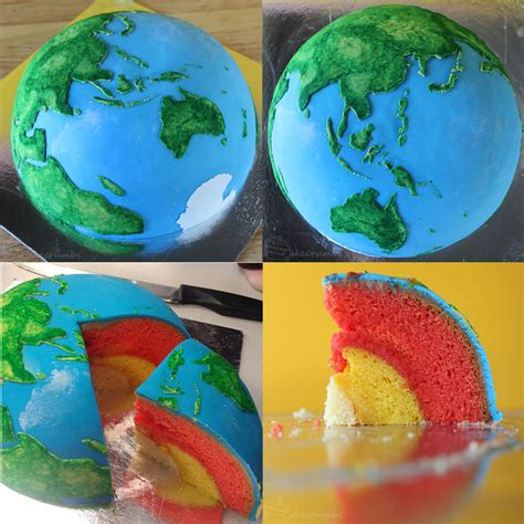 Edible Earth Layers Science Project