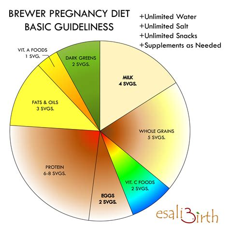 Brewer Diet Plan Nice Chart To Show You The Foods You