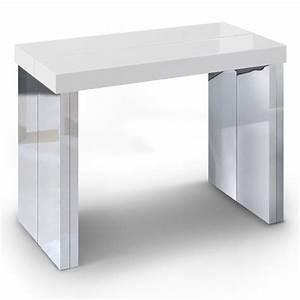 Console Extensible 14 Personnes : table console cdiscount ~ Teatrodelosmanantiales.com Idées de Décoration