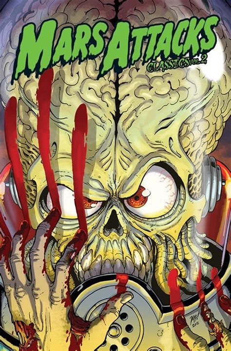 U Boat Peril Definition by Mars Attacks Volume 2 Cover By Kaijusamurai On Deviantart