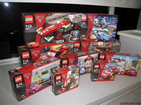Lego Cars by Review Of 8200 And 8201 Lego Cars 2 Lightning Mcqueen And