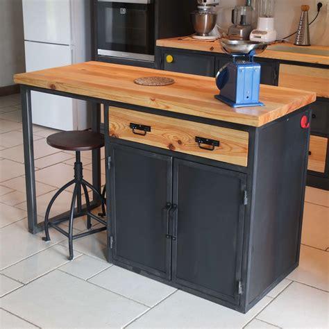 meuble cuisine industriel meuble de cuisine style industriel cheap meuble de