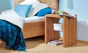 Nachttischlampe Selber Bauen : nachttisch aus buchenholz selbst bauen einrichten mobiliar ~ Markanthonyermac.com Haus und Dekorationen