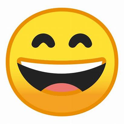 Emoji Happy Google Face Smiling Eyes Grinning
