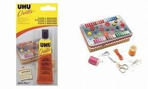 Colle Extra Forte Pour Plastique Dur : uhu creativ colle cr ative pour plastique miniatures uhu ~ Edinachiropracticcenter.com Idées de Décoration