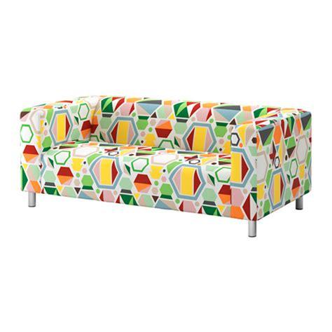 housse canapé klippan klippan housse de canapé 2pla glottra multicolore ikea