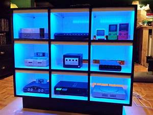 Console Gaming Shelf 10 Steps With Pictures