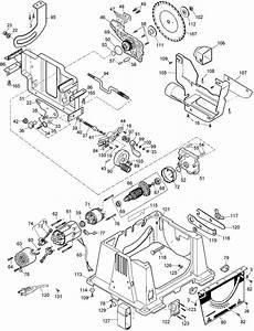 Dewalt Dw744 Portable Table Saw Parts  Type 3  Parts