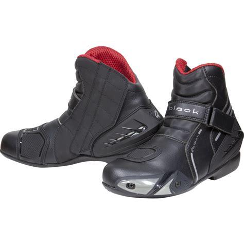 short motorbike boots black circuit short ankle motorcycle sports bike motorbike