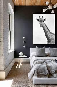 Toile De Mur : quel tableau pour un mur gris blog izoa ~ Teatrodelosmanantiales.com Idées de Décoration