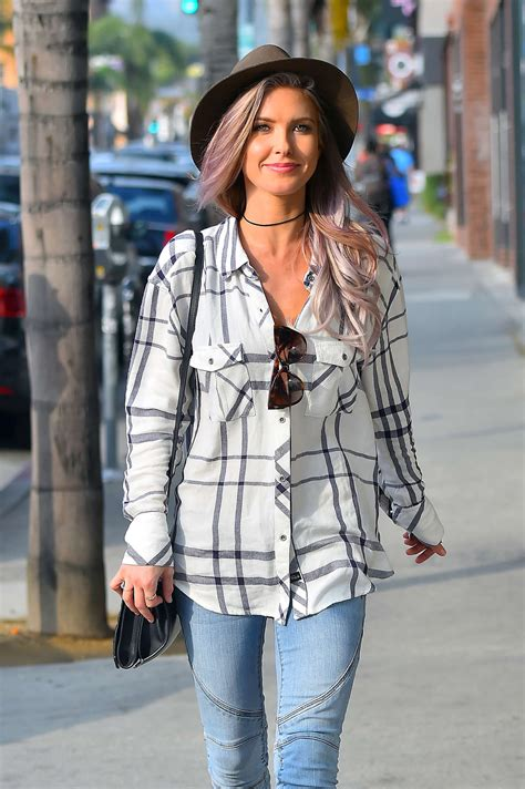 Audrina Patridge Style Out About Hollywood Gotceleb