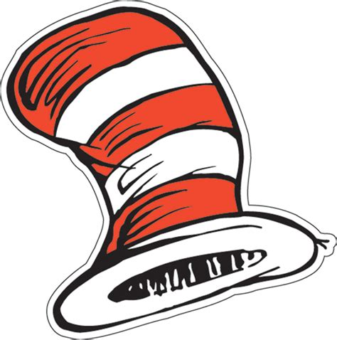 cat and the hat the cat in the hat hats paper cut outs eureka school