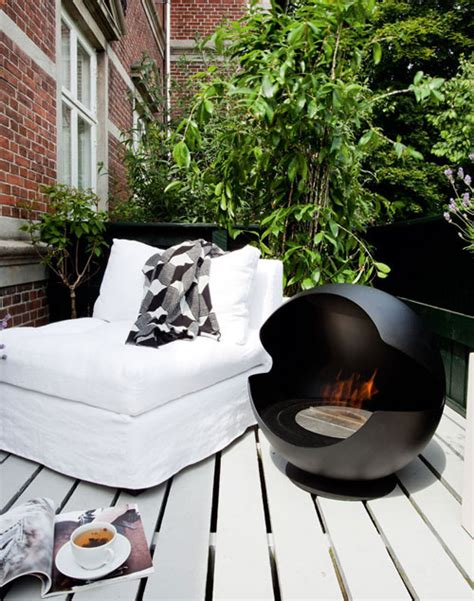 ethanol pit outdoor indoor outdoor bioethanol fireplace by vauni