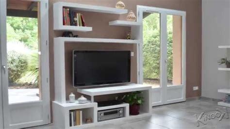 fabriquer un meuble tv contemporain youtube