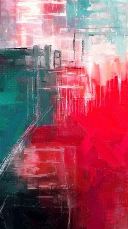 Abstract Paint Illust Iphone Diet Plus Ai14