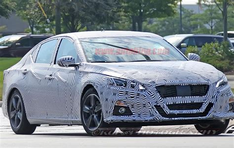 Nissan Altima Styles by 2019 Nissan Altima Spied In Mild Camo With Maxima Style