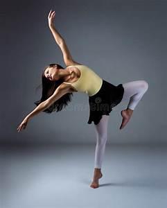 Female modern dancer stock image. Image of action, ballet ...