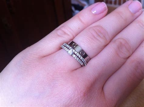 difference between cartier love ring and wedding band purseforum