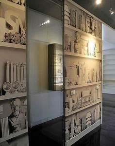"""Foto: Carta da Parati Disegno """"libreria"""" di Interior Tendaggi #385416 Habitissimo"""