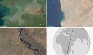 Nasa satellite captures stunning 6,000-mile-long panoramic ...