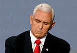 Watch: Fly Lands on Mike Pence's Head & Becomes The ...