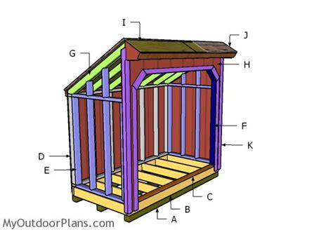 saltbox wood shed roof plans myoutdoorplans  woodworking plans  projects diy