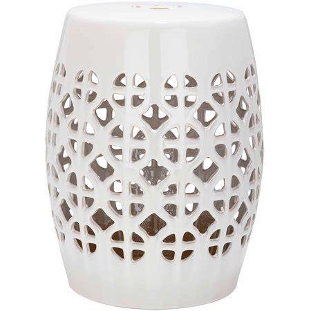 safavieh garden stool safavieh circle lattice garden stool walmart