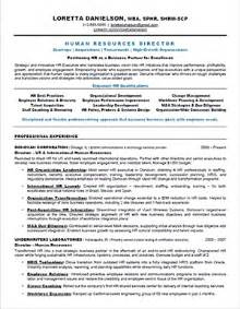 Hr Resume by Hr Resume Sle