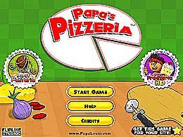 jeux de cuisine de papa louis papa s pizzeria un des jeux en ligne gratuit sur jeux jeu fr